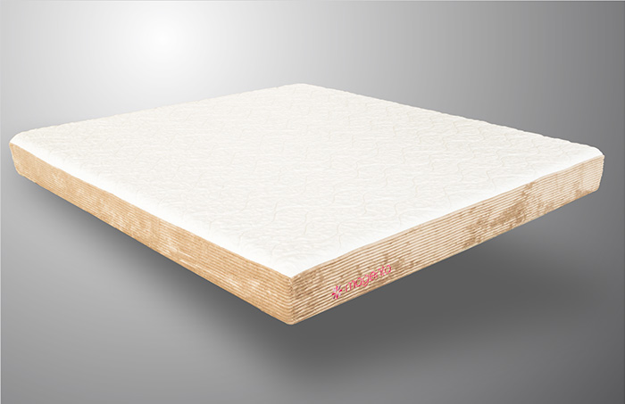 7 Latex With Memory Foam Quilted Mattress Magenta