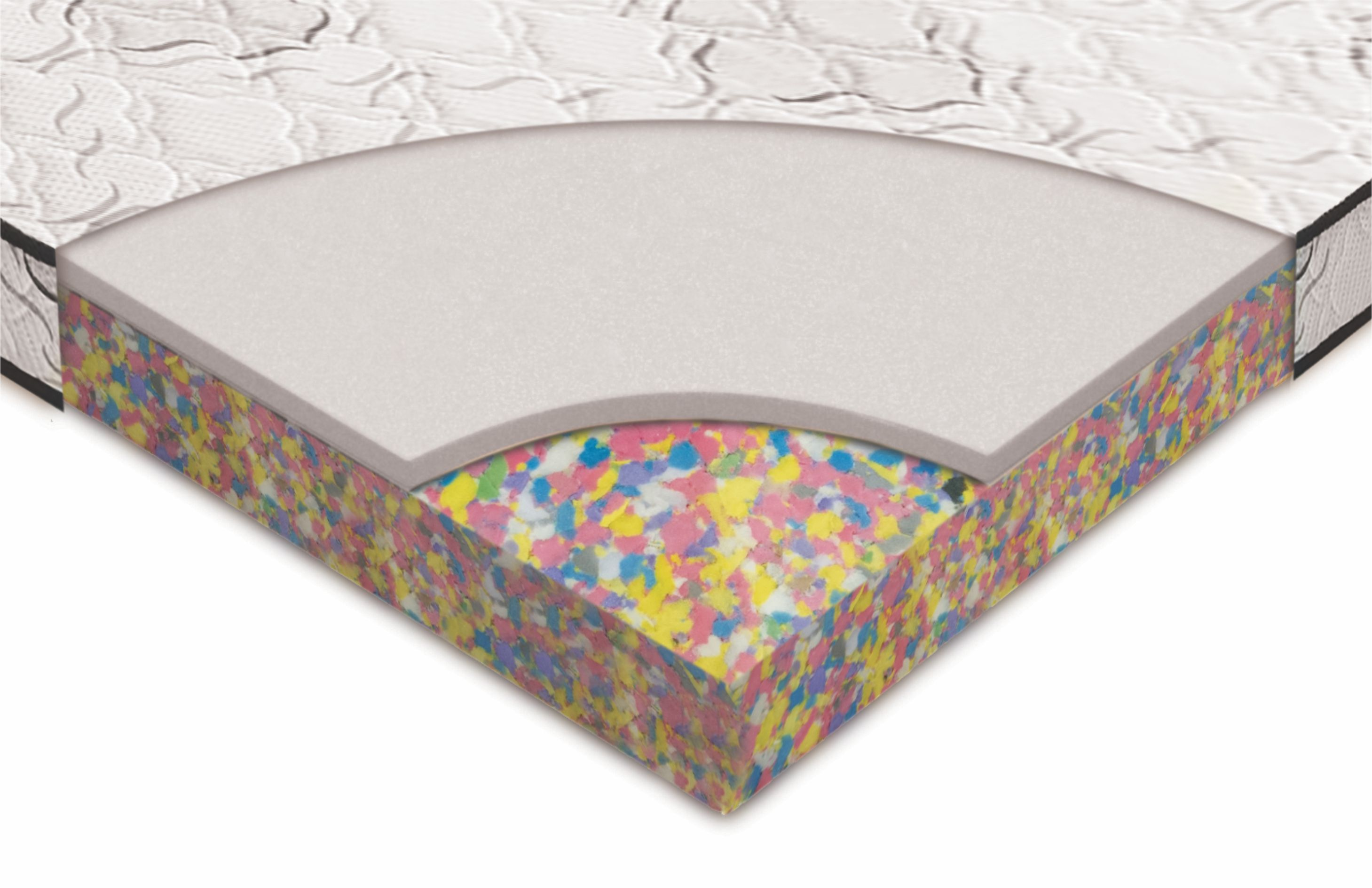 5 Bonded With Hr Foam Mattress Magenta